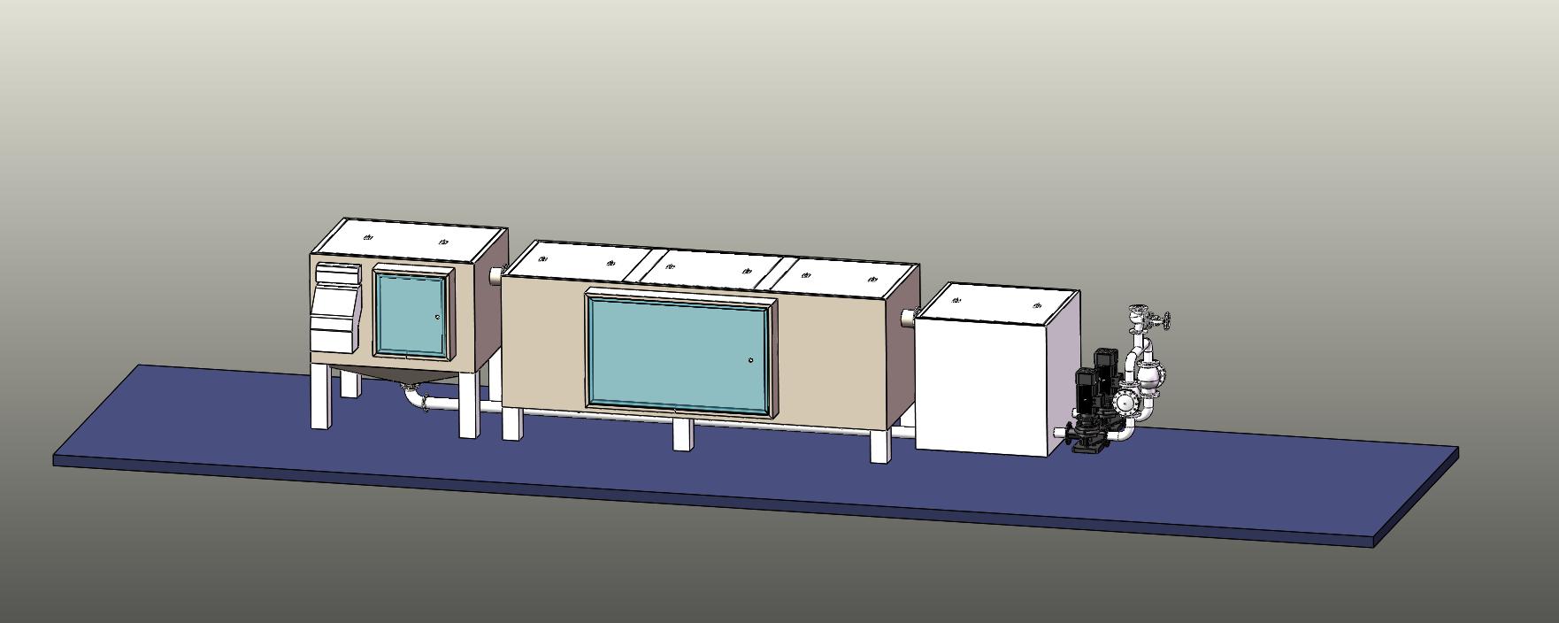 垃圾站油水分离器