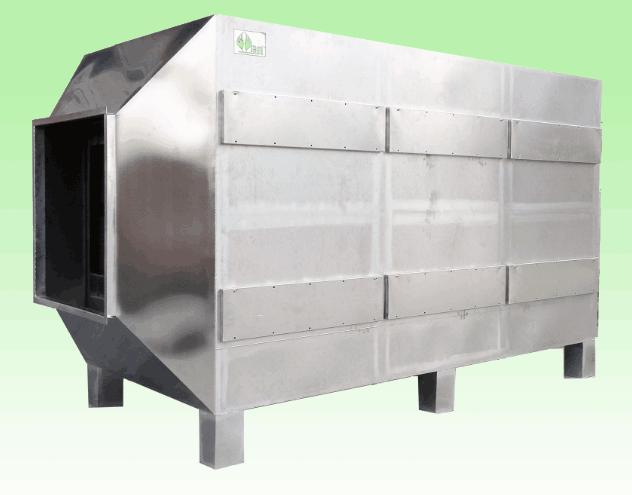 VOCs活性炭箱处理设备